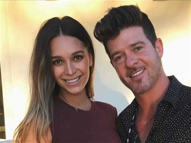 Robin Thicke and April Love Geary Welcome Their First Child