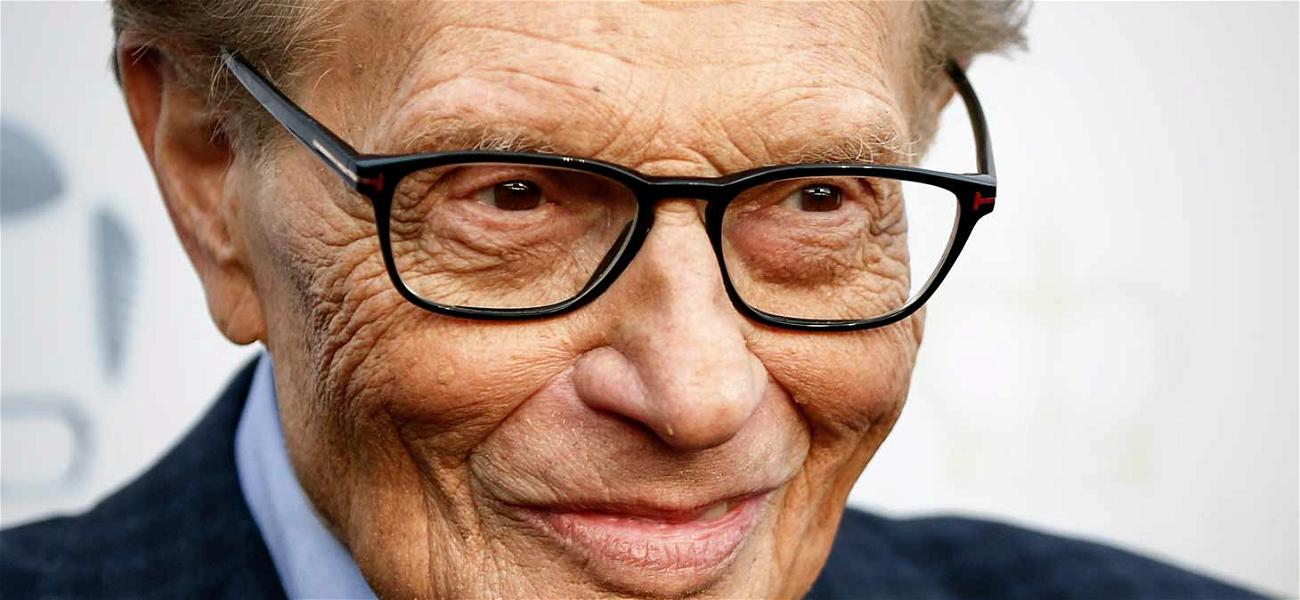 Larry King Sues Over Fake Interview With 'Shark Tank' Contestant