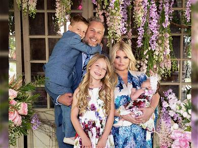 Jessica Simpson Shares Adorable Family Photos on Easter, Including First Clear Shot of Daughter Birdie