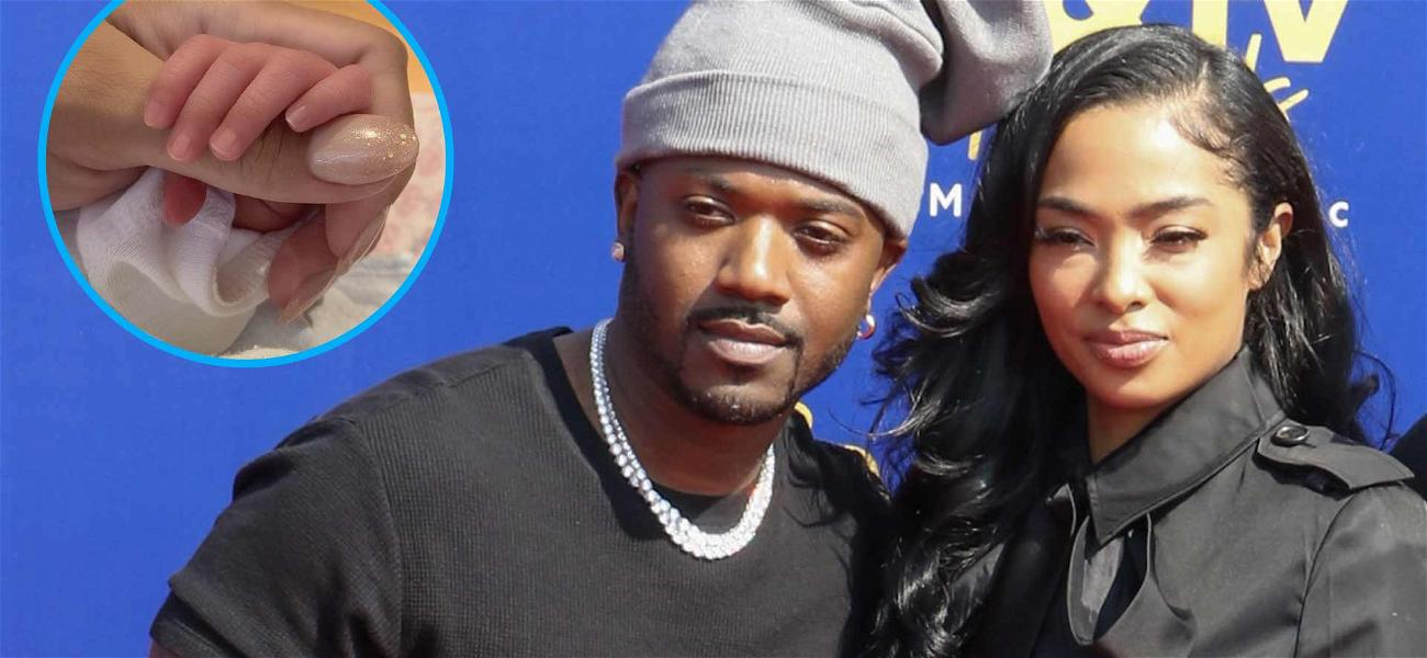 Ray J And Princess Love Reveal The Name Of Their New Baby!