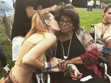 Paris Jackson Posts Sweet Message About Grandma Katherine (But of Course She Dropped an F-Bomb)