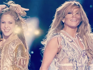 Jennifer Lopez & Shakira MELT DOWN Super Bowl With Double Butt Shake During Halftime Show