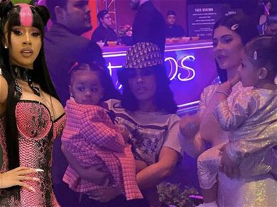 Cardi B Says She's Happy Baby Kulture Made 'Rich Friends' At Kylie Jenner's Daughter's Birthday Party
