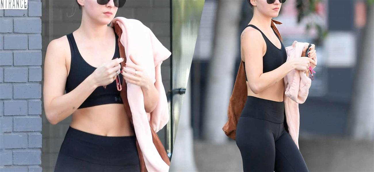 Dakota Johnson Shows Off Flat Tummy After Yoga: Does This Look Preggo, Baby?