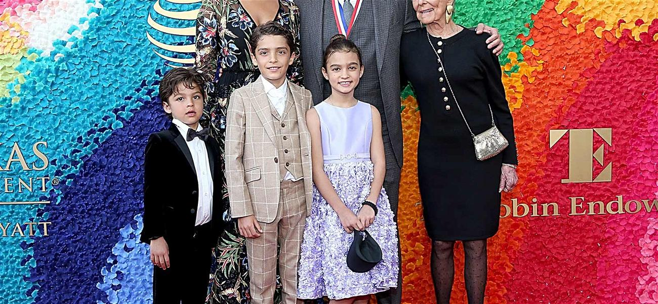 Matthew McConaughey's Three Kids Get it From Their Mama