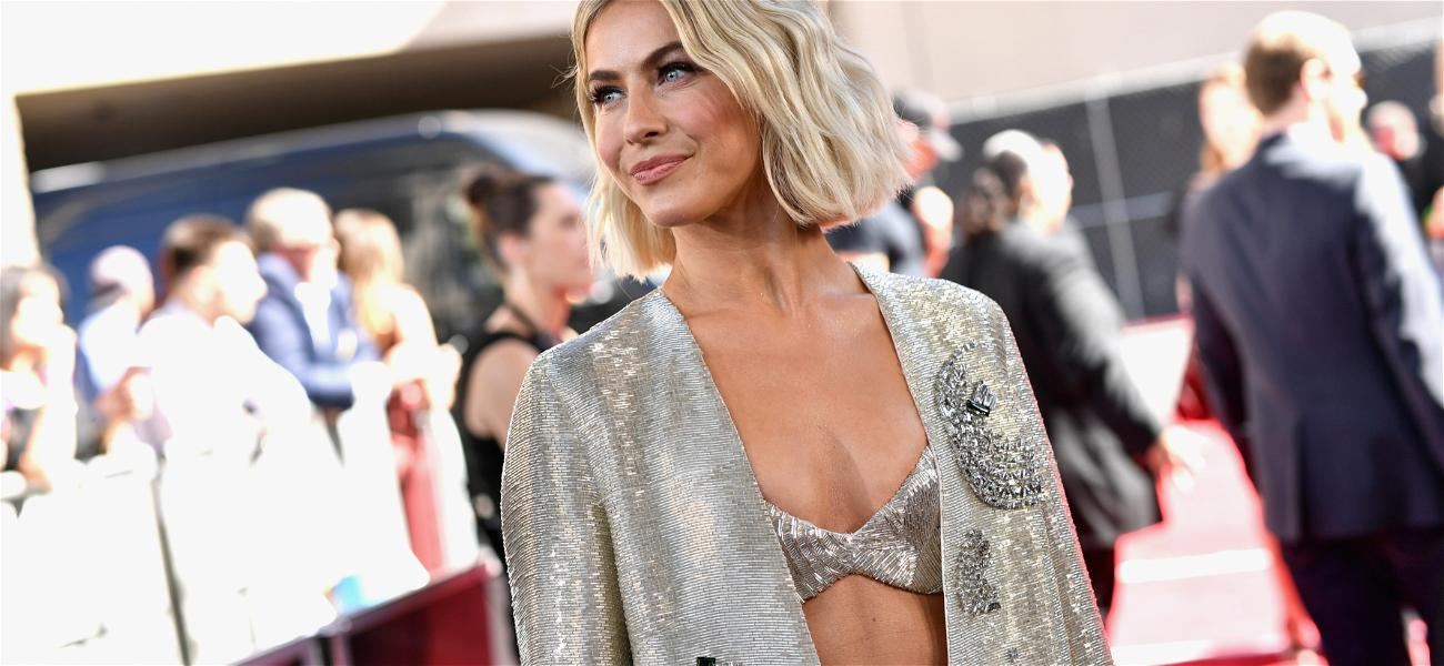 Julianne Hough Becomes Emotional While Releasing 'Stagnant Energy' During A Dance Class