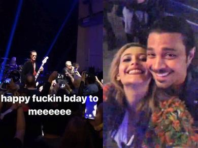 Paris Jackson Rocks Out with Stone Temple Pilots & Bush for 20th Birthday