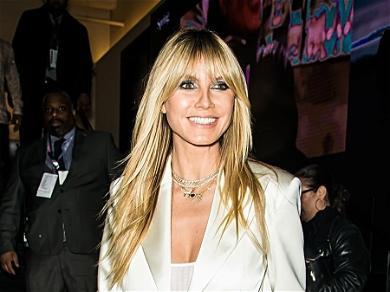 Heidi Klum Celebrates Daughter Leni's Vogue Modeling Debut