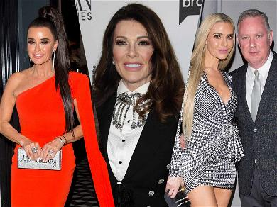 Lisa Vanderpump Reunites With 'RHOBH' Cast For Premiere Party Despite Major Drama With Housewives