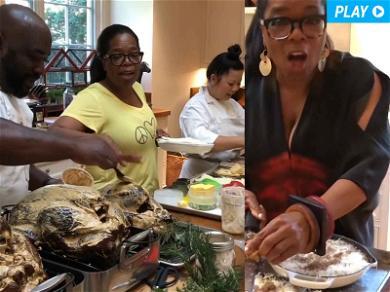 Oprah's Thanksgiving Was Pretty Much Perfect