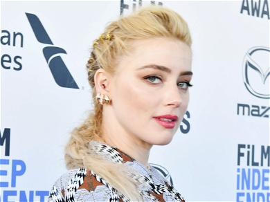 Amber Heard Admits to 'Love Affair' During Quarantine