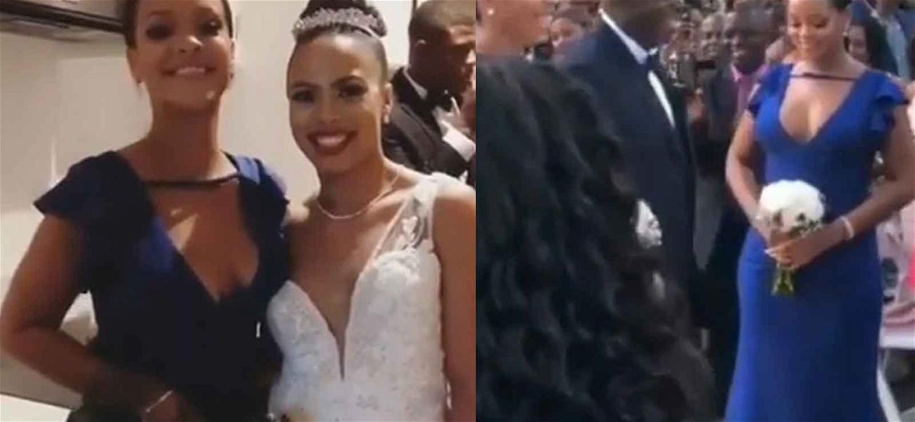Rihanna is the Baddest Bridesmaid During BFF's Wedding in Barbados