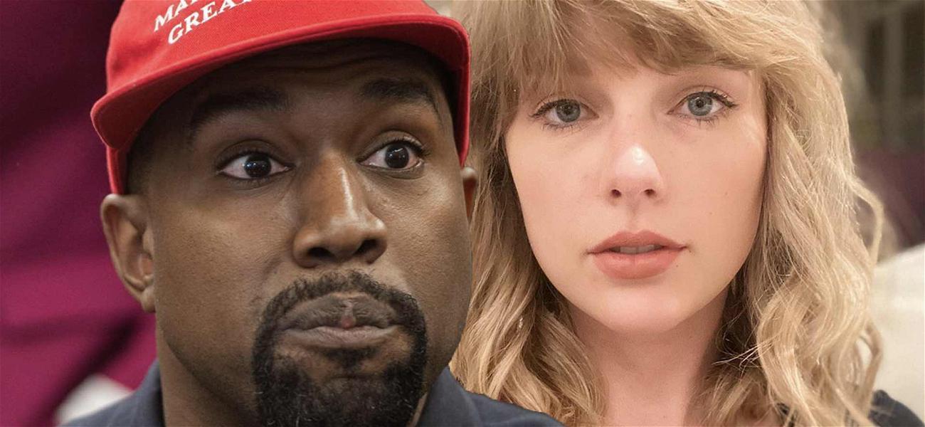 Kanye West Takes Swipe At Taylor Swift During Late-Night Twitter Tirade