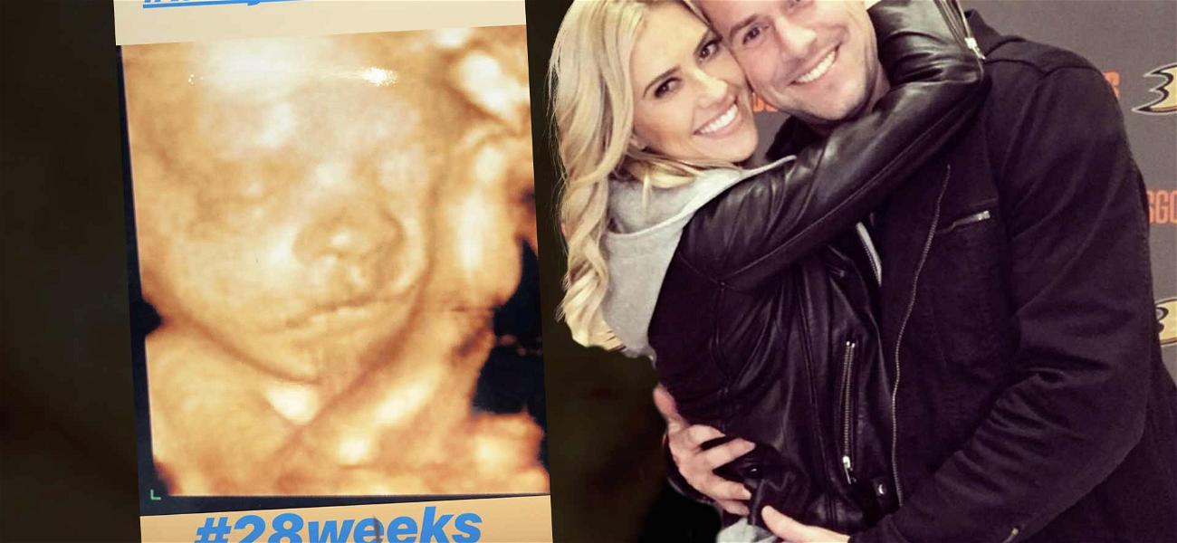 'Christina On The Coast' Star Christina El Moussa Shares Sweet Sonogram of Baby Anstead at 28 Weeks