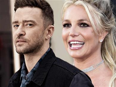Justin Timberlake Responds To Britney Spears' Sultry Dance Moves