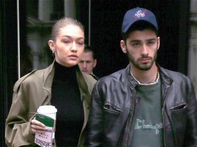 Gigi Hadid and Zayn Malik Spotted Back Together in NYC