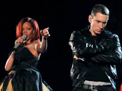 Eminem Apparently Defended Chris Brown Over Brutal Assault Against Rihanna