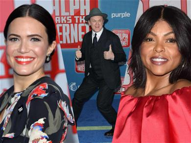 Mandy Moore, John C. Reilly Dial Up Style for 'Ralph Breaks the Internet' Premiere