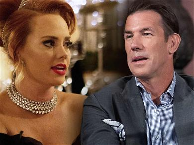 'Southern Charm' Star Kathryn Dennis and Thomas Ravenel Smiling Together and Touching in Recent Photos