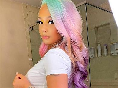 Tekashi 6ix9ine's Girlfriend Warned About Chicago In Skintight Booty Shot By Private Jet