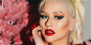 Christina Aguilera Stuns In Only Latex After Cowboy Bubble Bath