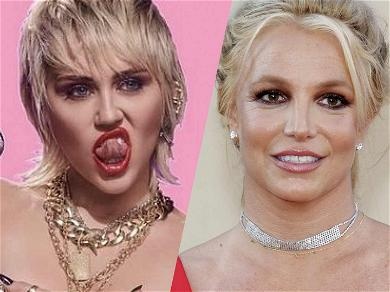 Miley Cyrus Joins Britney Spears In Wet Shower Rub