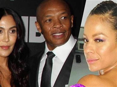 Dr. Dre's Alleged Mistress Crystal Refuses To Answer His Wife's Questions