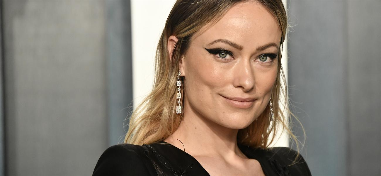 Olivia Wilde Showcases Her Fit Figure While Running Errands In LA With Her Kids