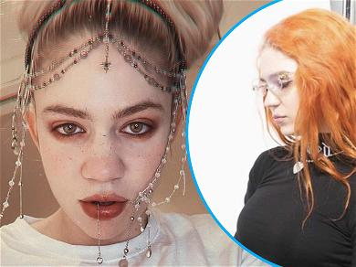 Pregnant Grimes Shares '2 Skinny' Throwback And Admits To Eating 3 Meals A Day For The First Time