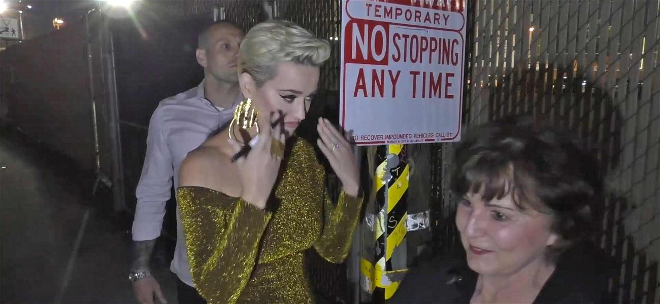 Katy Perry Gets Choked Up With Crying Fan Over Engagement to Orlando Bloom