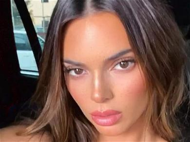 Kendall Jenner Pops Cherry With Massive Bathroom Thigh Gap