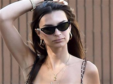 Emily Ratajkowski Shaves Armpits: Now You See Hair, Now You Don't!