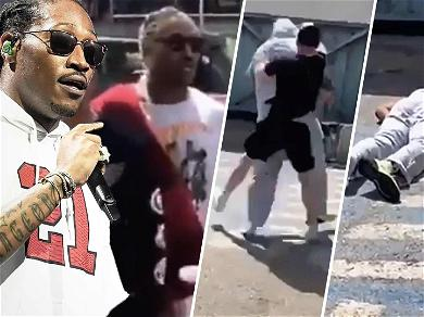 Rapper Future's Bodyguard Knocked Out Cold In Shocking Video After Ibiza Airport Argument