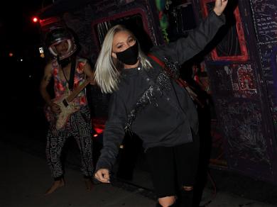 TikTok Star Jordyn Jones Celebrates Music Video Release For Hit Song 'Intimate' L.A. Style!