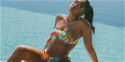 Lori Harvey Shows Off Reported Breakup Body in Army Fatigues & Crop Top