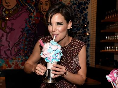 Katie Holmes, Victoria Justice Chow Down on Mind-blowing Burgers and Shakes