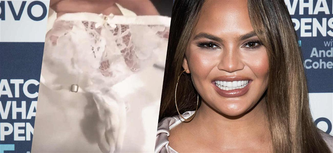 Chrissy Teigen Cleans Out Panty Drawer, Says Lady Bits Would 'Eat' Old G-String