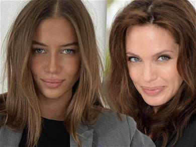 Brad Pitt's 27-Year-Old Girlfriend Nicole Poturalski Sizzles While Giving Angelina Jolie Vibes