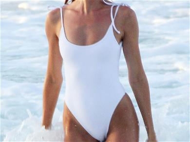 Candice Swanepoel Doubles Up On Beach Breaks