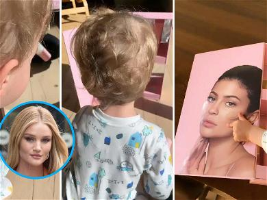 Rosie Huntington-Whiteley's Son Adorably Calls Kylie Jenner 'Mommy'