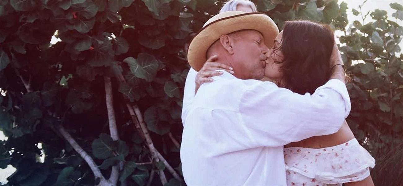 Bruce Willis Renews Vows With Wife on 10-Year Anniversary