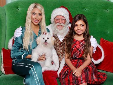 Farrah Abraham Sits on Santa's Lap: Ho Ho Ho!