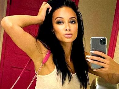 Draya Michele 'A Whole Flirt' With Wet Floor Thirst Trap
