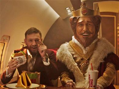 Conor McGregor Flame Grills Floyd Mayweather in New Burger King Spot