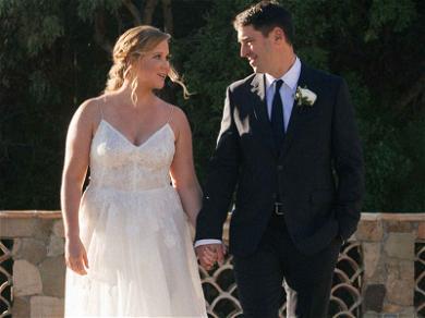 Amy Schumer Got Married in Malibu, Larry David and Jennifer Lawrence Attend!