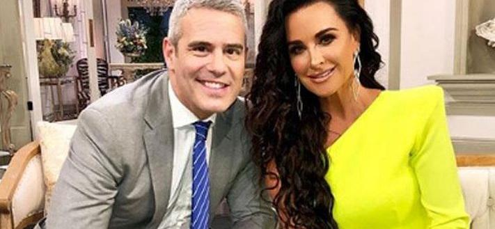 Kyle Richards Addresses Alleged 'All Stars' Drama With Kenya Moore