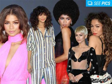 Zendaya Changed Her Look a Zillion Times in 2017