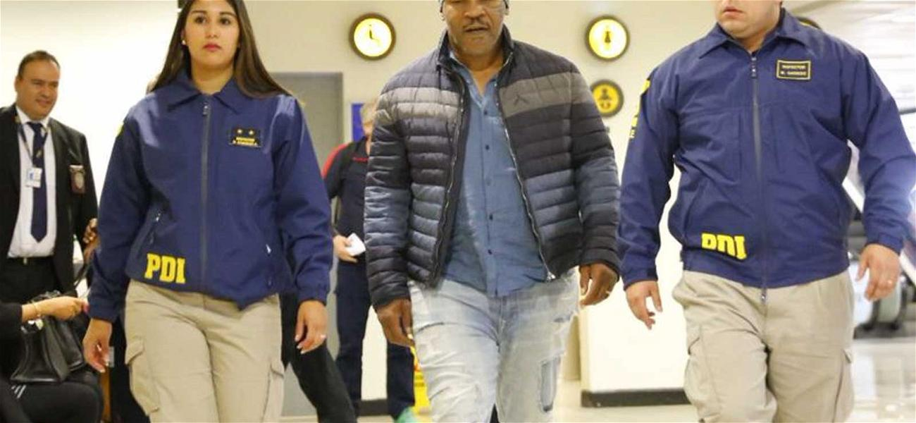Mike Tyson Denied Entry Into Chile, Sent Back to the U.S.