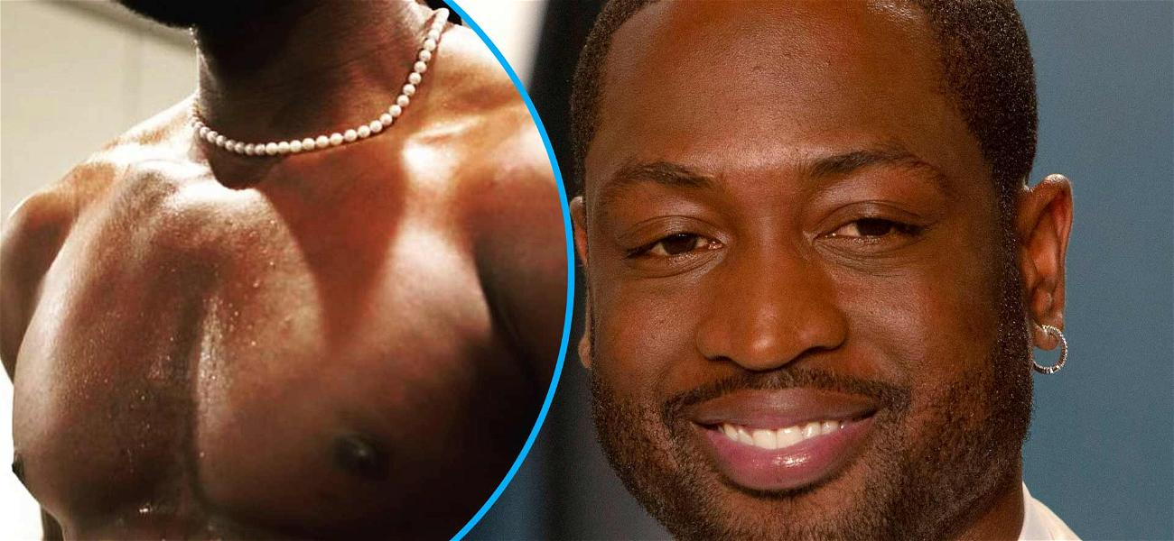 Dwyane Wade Shows Off Ripped Retired Physique, Promises More Shirtless Pics in 2021