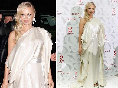 Pamela Anderson Covers Up During Paris Fashion Week After Proclaiming  the 'Worst Lovers' Watch Porn